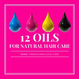 Oils for Natural Hair Care
