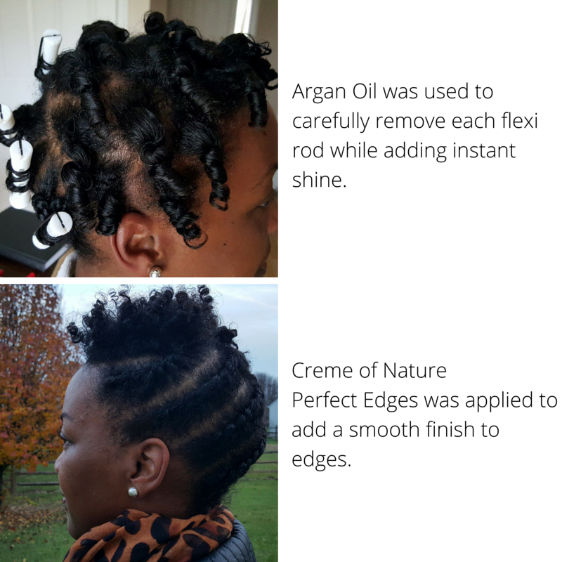 Natural Hair Style for the Holidays - The Natural Cole