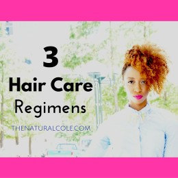 hair care regimens