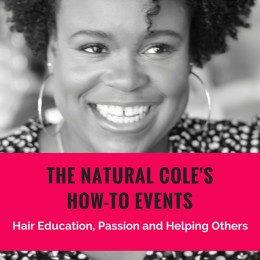 The Natural Cole's How-To Event