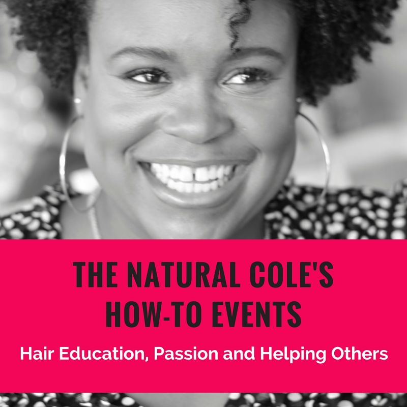 The Natural Cole and Natural Hair Week with Denman