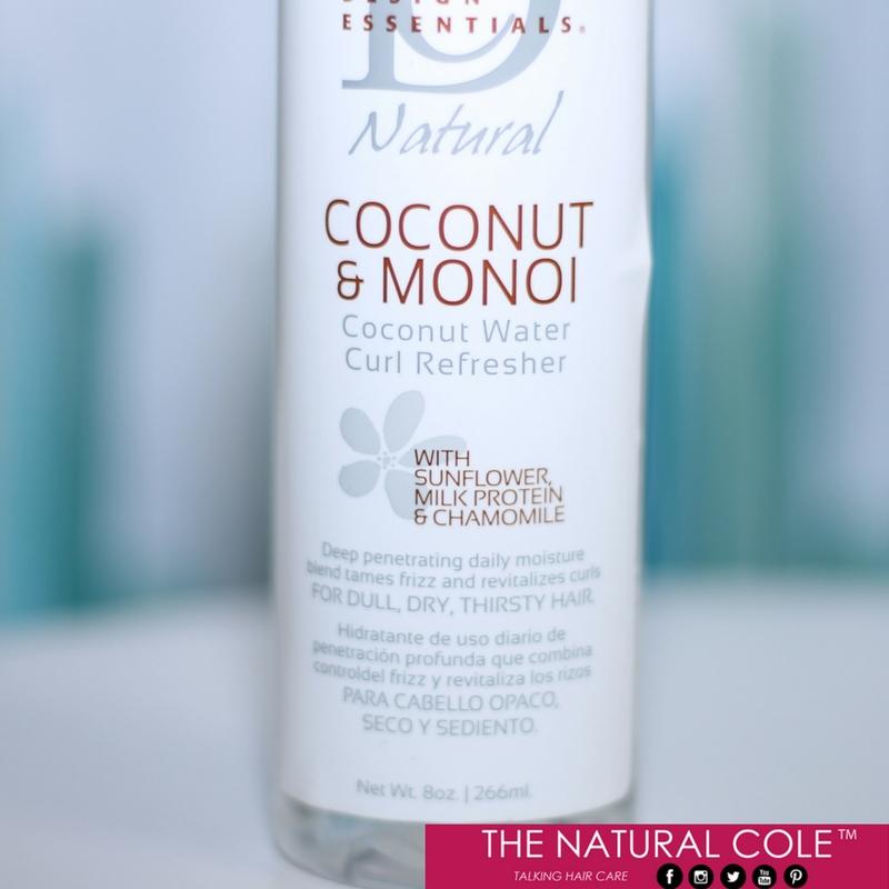 Design Essentials Coconut and Monoi Oil