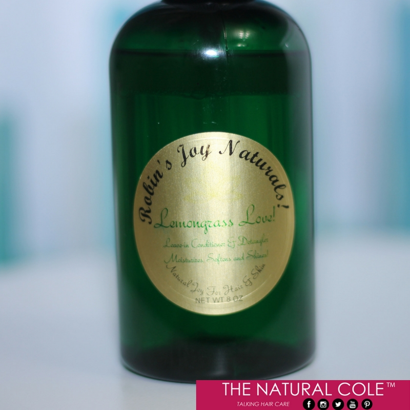 Robin's Joy Naturals Leave-in Conditioner and Detangling Spray