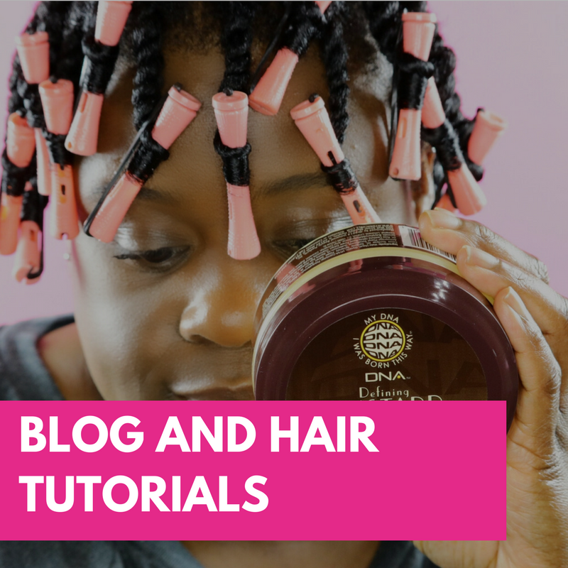 Blog and Hair Tutorials
