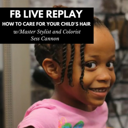 How To Care For Your Child's Hair