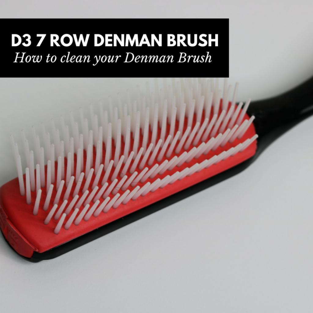 D3 7 Row Denman Brush