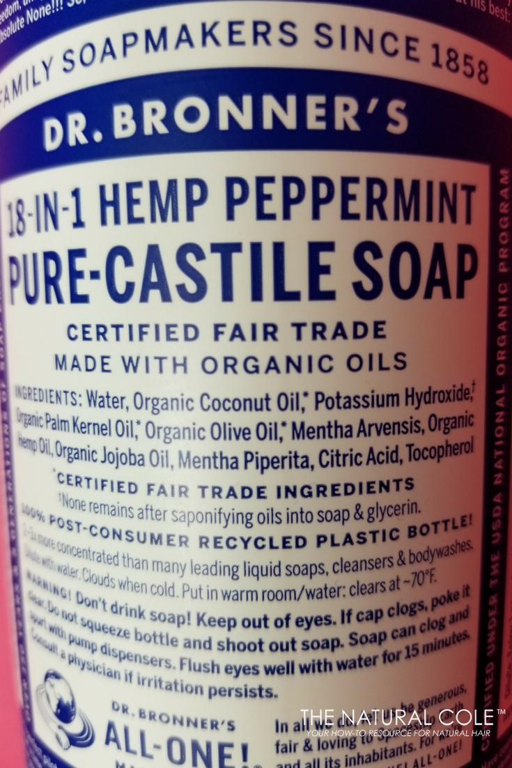 Dr. Bronner's Castil Soap
